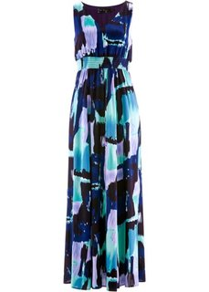 Платье (темно-синий/синий ментол в цве) Bonprix
