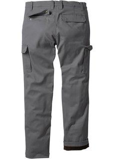 Термо-брюки, cредний рост (N) (темно-синий) Bonprix