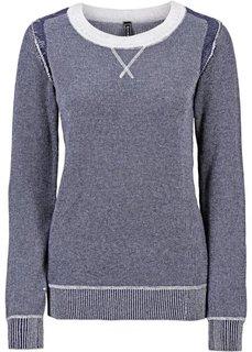 Вязаный пуловер (ржаво-красный) Bonprix