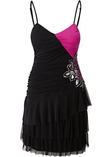 Платье (королевский синий/черный) Bonprix