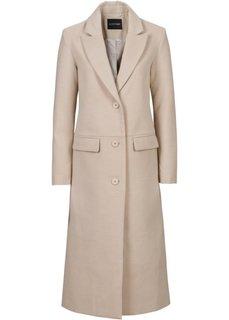 Пальто (ежевичный матовый) Bonprix