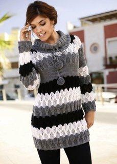 Пуловер (в полоску) Bonprix
