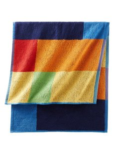 Полотенце Удовольствие (сине-зеленый) Bonprix