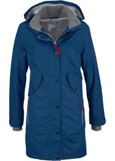 Удлиненная куртка для активного отдыха (цвет белой шерсти) Bonprix