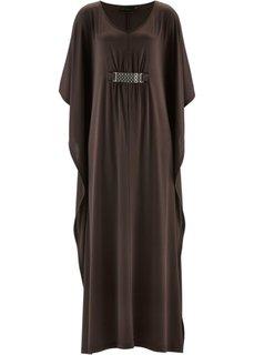 Трикотажное платье с цепочкой ПРЕМИУМ (нежная фуксия) Bonprix