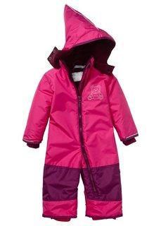 Мода для малышей: зимний комбинезон, Размеры  68-110 (горячий ярко-розовый/красная я) Bonprix