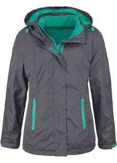 Функциональная куртка 3 в 1 с капюшоном (нефритовый) Bonprix