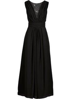 Макси-платье (ночная синь) Bonprix