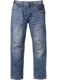 Джинсы Regular Fit Straight, длина (в дюймах) 34 (светло-серый деним) Bonprix
