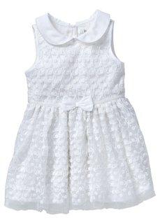 Платье с тюлем, Размеры  80-134 (розовый) Bonprix