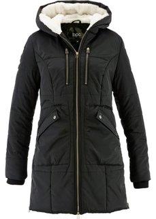 Куртка с капюшоном на подкладке (оливковый) Bonprix