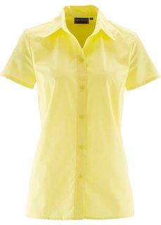 Блузка с коротким рукавом (нежно-голубой) Bonprix