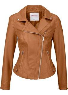 Байкерская куртка (черный) Bonprix
