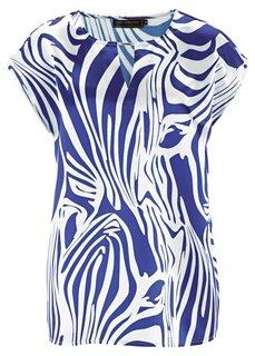 Туника (синий ментол/цвет белой шерсти) Bonprix