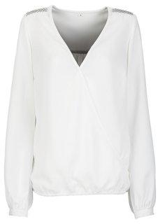 Блузка (серо-коричневый) Bonprix