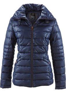 Стеганая куртка с воротником-стойкой (кленово-красный) Bonprix