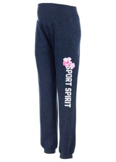 Мода для беременных: трикотажные брюки (черный меланж) Bonprix
