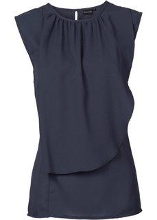 Шифоновая блузка (пастельная аква) Bonprix