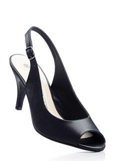 Туфли с открытым носком (омаровый) Bonprix