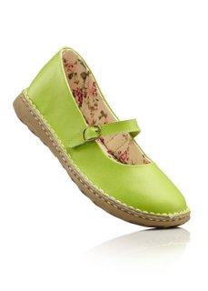 Кожаные туфли Мэри Джейн (красный) Bonprix