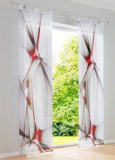 Японская штора Френклин (1 шт.), петли (зеленый) Bonprix