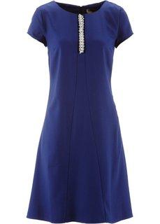 Платье с бусинами ПРЕМИУМ (цвет белой шерсти) Bonprix
