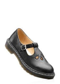 Туфли с застежкой на ремешок и пряжку (цвет пудры) Bonprix