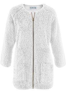 Флисовая куртка дизайна Maite Kelly с длинным рукавом (черный) Bonprix