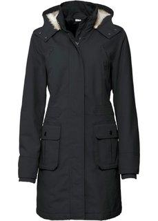 Куртка-парка (серый) Bonprix