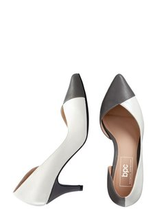 Туфли (дымчато-серый/белый) Bonprix