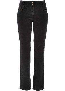 Вельветовые брюки-стретч (темно-коричневый) Bonprix