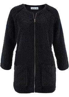 Флисовая куртка дизайна Maite Kelly с длинным рукавом (цвет белой шерсти) Bonprix