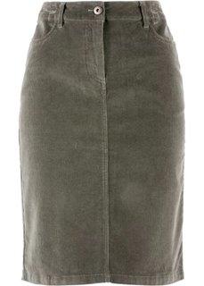 Вельветовая юбка (темно-лиловый) Bonprix