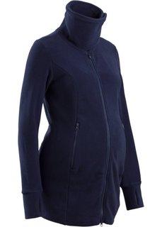 Для будущих мам: флисовая куртка (черный) Bonprix