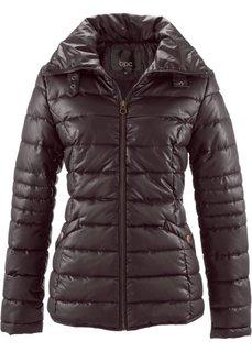 Стеганая куртка с воротником-стойкой (темно-синий) Bonprix