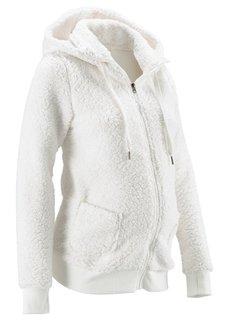 Мода для будущих мам: флисовая куртка (черный) Bonprix