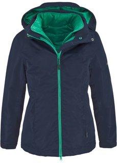 Функциональная куртка 3 в 1 (антрацитовый/ярко-розовый) Bonprix