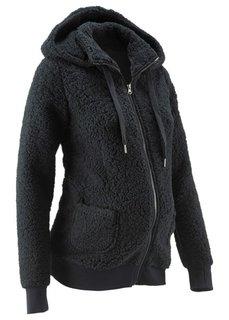 Мода для будущих мам: флисовая куртка (цвет белой шерсти) Bonprix