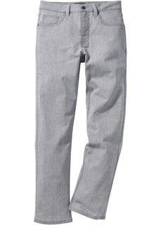 Джинсы-стретч Regular Fit Straight, низкий + высокий рост (U + S) (темно-синий) Bonprix
