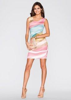 Трикотажное платье (различные расцветки с рисунком) Bonprix