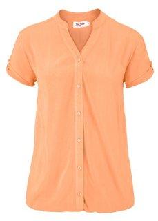 Блузка с коротким рукавом (синий) Bonprix