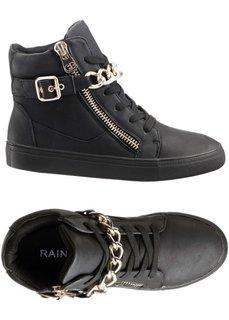 Ботинки (черный/золотисто-желтый) Bonprix
