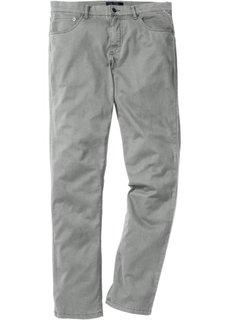 Брюки-стретч Slim Fit Straight в стиле 5 карманов, cредний рост (N) (ночная синь) Bonprix