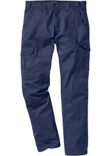 Брюки-карго Regular Fit Straight, cредний рост (N) (дымчато-серый) Bonprix
