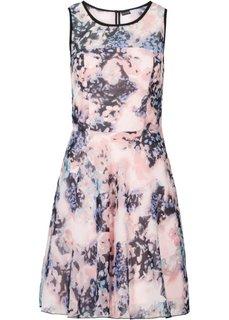 Шифоновое платье (экрю в цветочек) Bonprix
