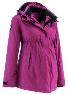 Функциональная куртка для беременных (темно-коричневый) Bonprix