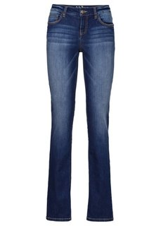 Формирующие джинсы-стретч STRAIGHT, cредний рост (N) (голубой) Bonprix
