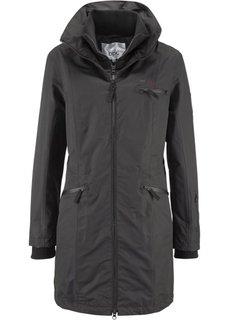 Функциональная куртка дизайна 2 в 1 с капюшоном (красная ягода) Bonprix