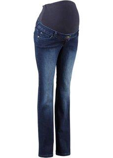 Для будущих мам: джинсы Bootcut (коротких и длинных размеров), высокий рост (L) (темный деним) Bonprix