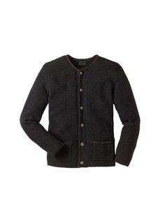 Кардиган в традиционном стиле Regular Fit (серо-коричневый) Bonprix